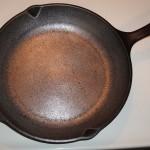 Sanded Cast Iron Skillet