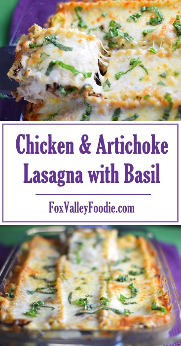 Chicken & Artichoke Lasagna with Basil Recipe