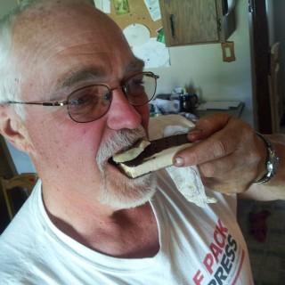 Ice cream and pickled herring