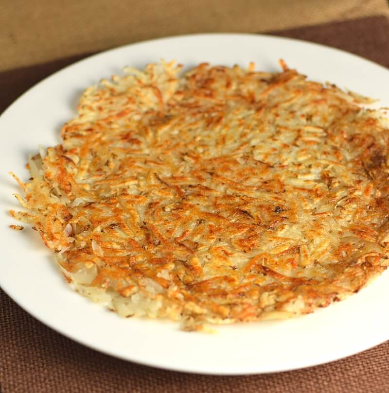 Homemade Shredded Hash Browns
