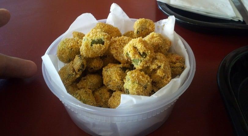 Cozzy Corner's Fried Okra