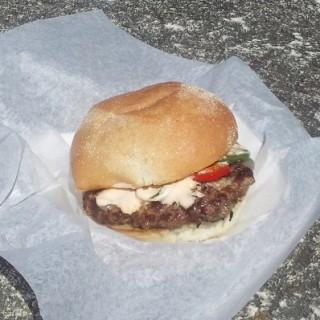Kangaroostaurant Burger