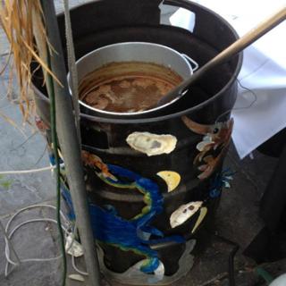 Barrel Fryer