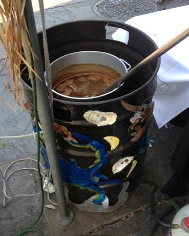 Deep fryer barrel