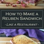How to Make a Reuben Sandwich - recipe- Like a Restaurant