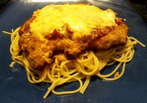 Bad photo of chicken parmesan