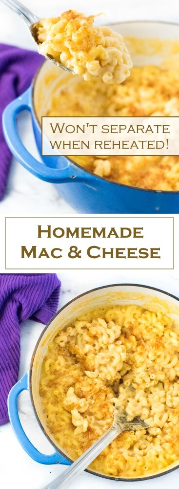 Homemade Mac and Cheese from scratch recipe