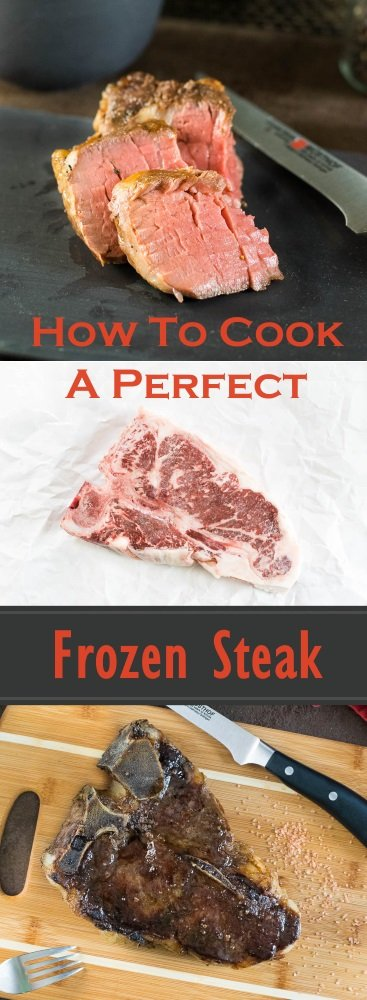How to Cook a Perfect Frozen Steak - You will never worry about thawing steaks again!