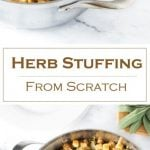 Herb Stuffing from Scratch Recipe