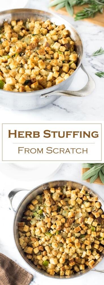 Herb Stuffing from Scratch Recipe