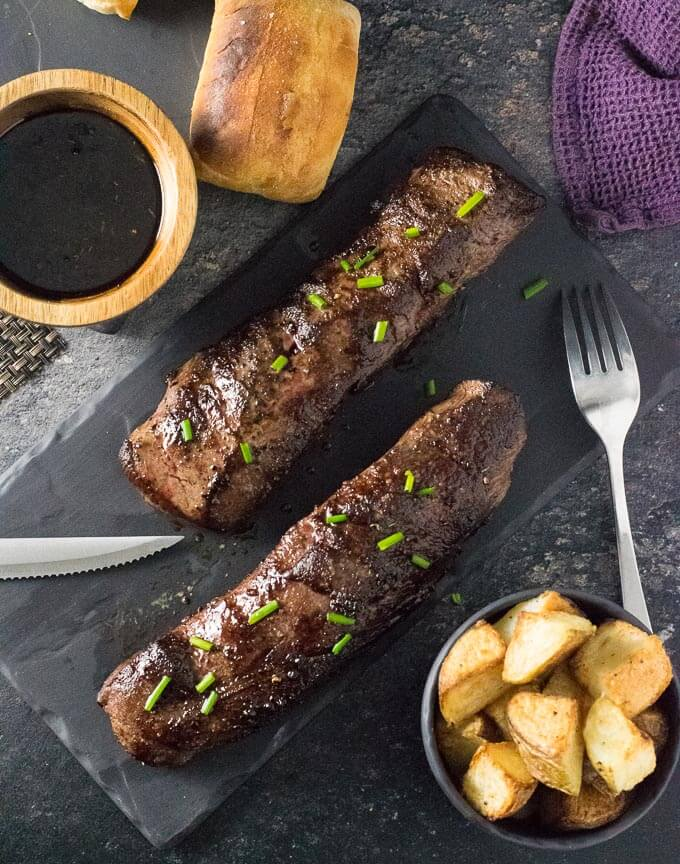 Roasted Venison Loin recipe