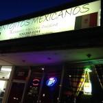 Antojitos Mexicano Sign