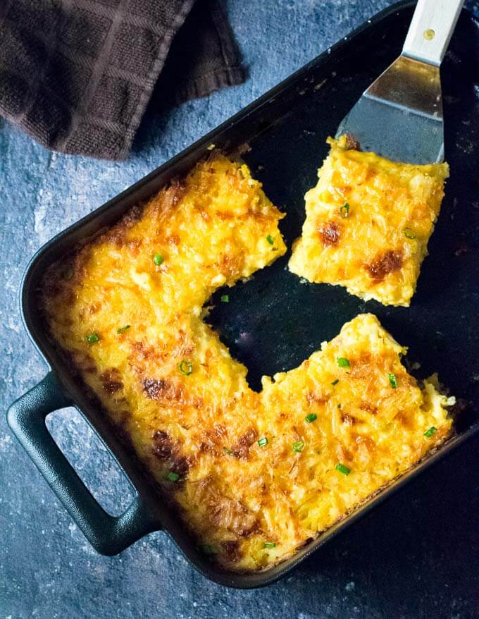 Easy Cheesy Hash Brown Casserole