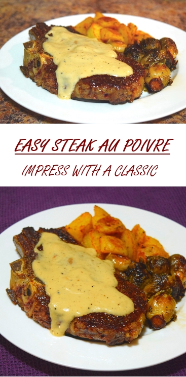 Easy Steak au Poivre Recipe