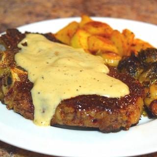 Easy Steak au Poivre recipe