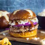 Brat Burgers recipe