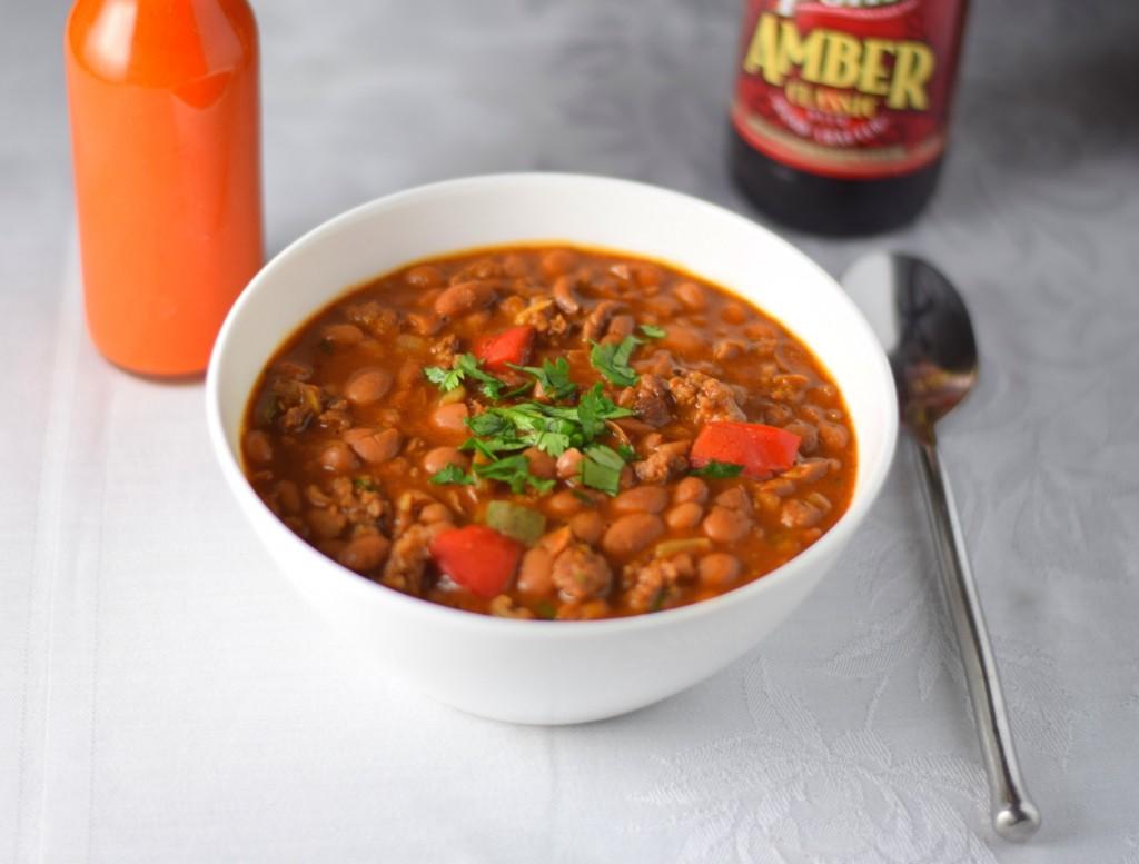 Drunken beans recipe