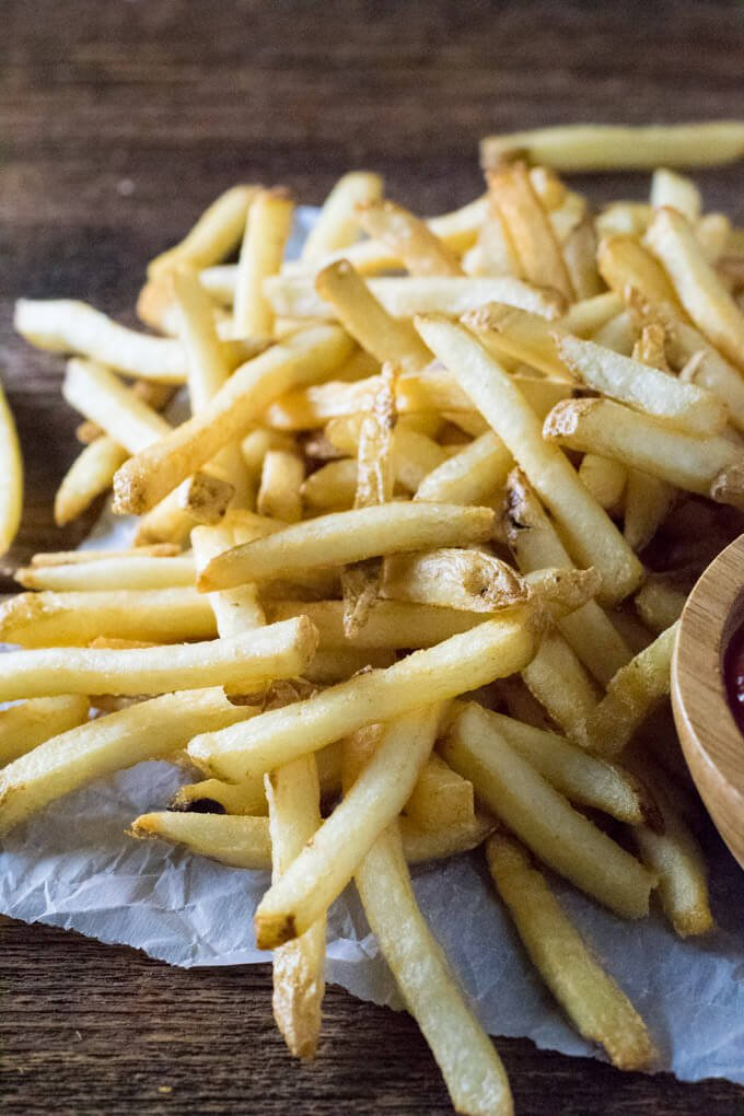 French Fries from Potatoes
