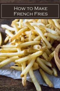 How to make homemade French fries #potatoes #sidedish #fried