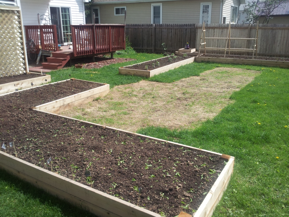 Northeast WI Raised Garden Bed
