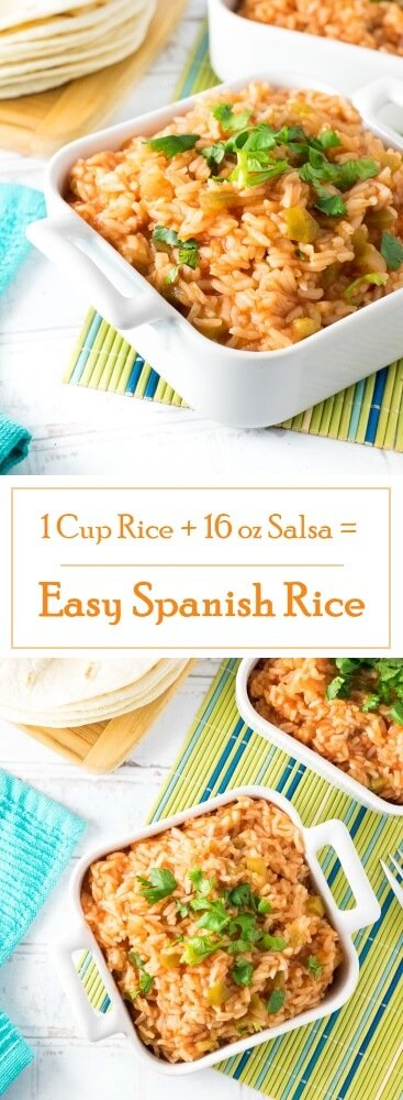 Easy Spanish Rice with Salsa recipe