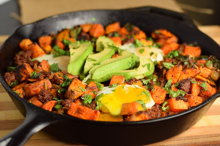 Chorizo Sweet Potato Hash Recipe