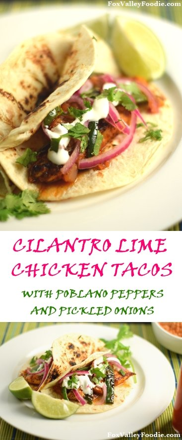 Cilantro Lime Chicken Tacos Recipe