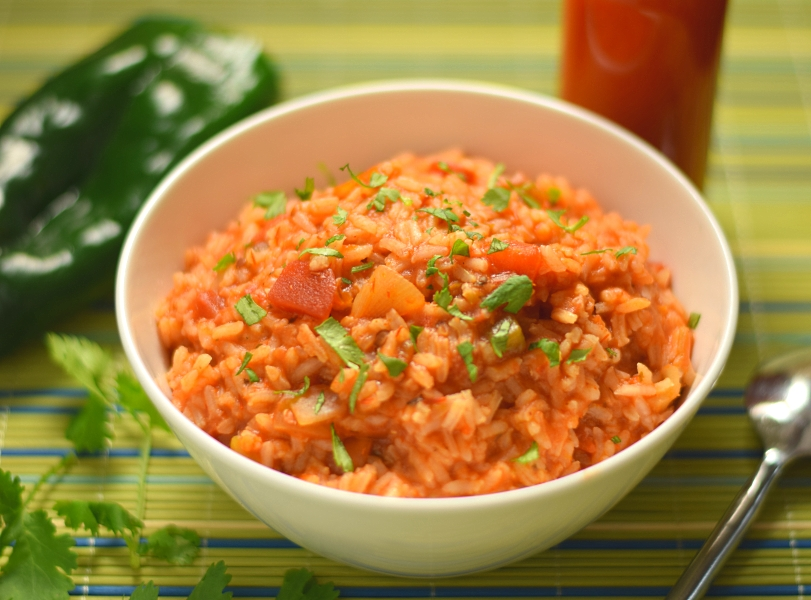 Spanish Rice with Salsa - The Easiest Spanish Rice Recipe Ever - Fox ...