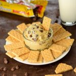 Eggless Cookie Dough Dip Dessert