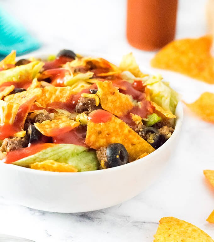 Taco Salad with Doritos Recipe