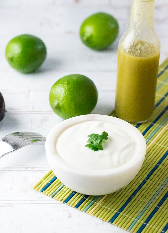 Cilantro Lime Sour Cream Recipe