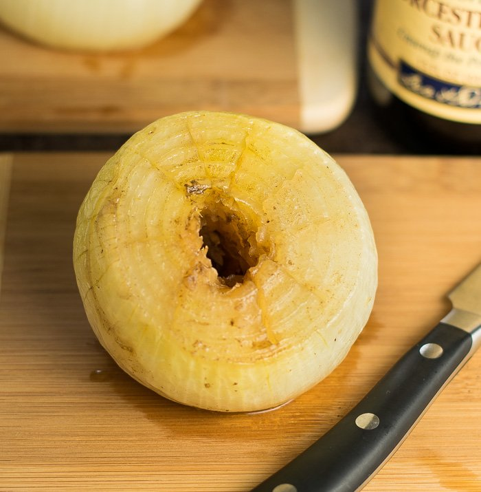 How to grill a whole onion recipe