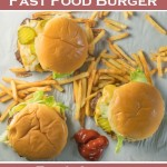 How to make a fast food burger that actually tastes REALLY good!