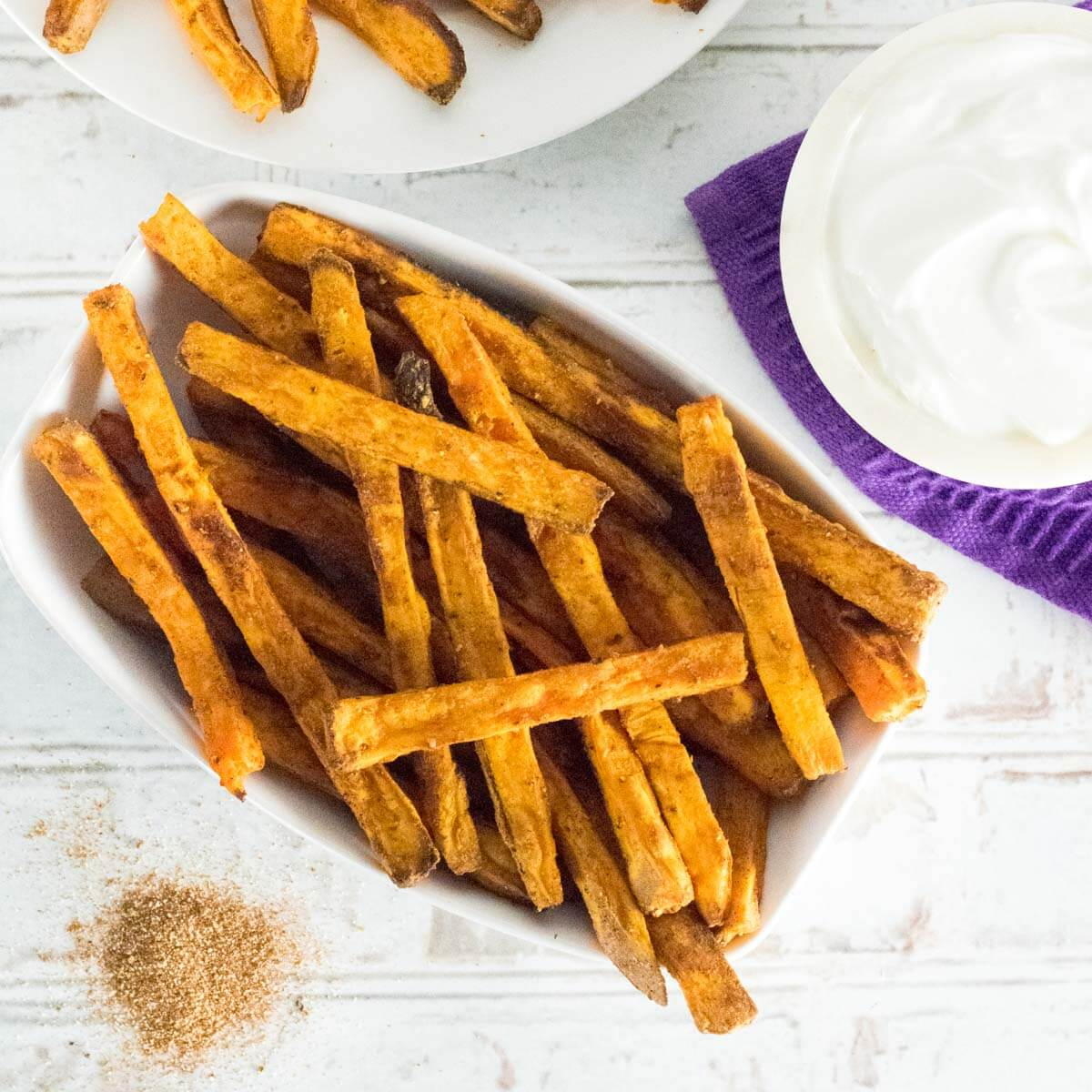 Oven Baked Sweet Potato Fries Fox Valley Foodie