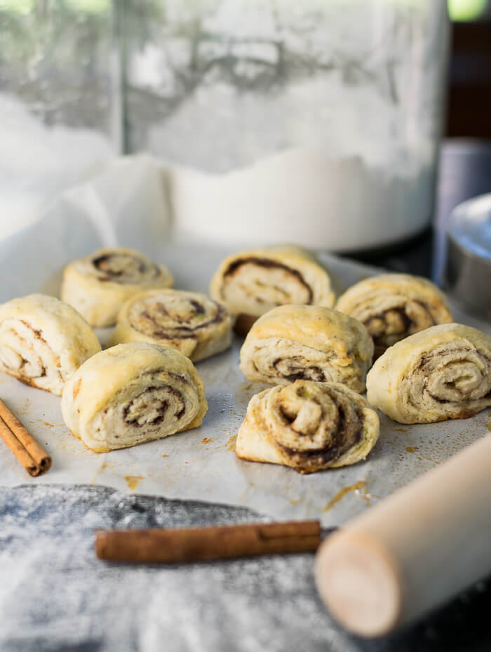 Pie Dough Pinwheels recipe