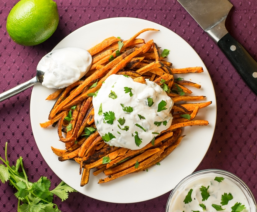 Oven-Baked Sweet Potato Fries with Magic Dust - Fox Valley Foodie