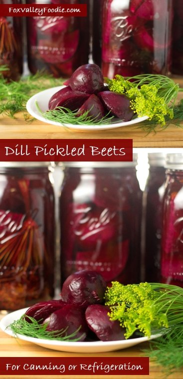 Canning dill pickled beets