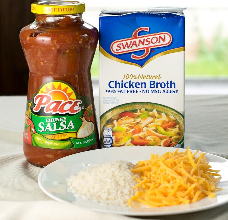 Cheesy Tex Mex Rice Ingredients