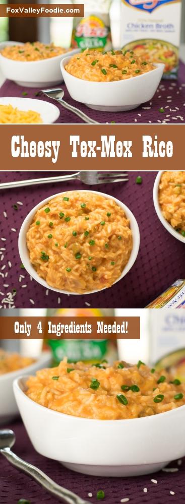 Cheesy Tex-Mex Rice Recipe