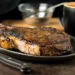 Coffee crusted steak rub