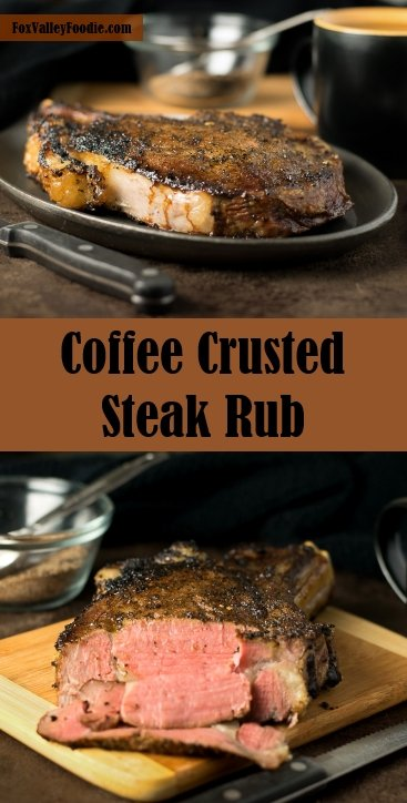 Coffee crusted steak rub