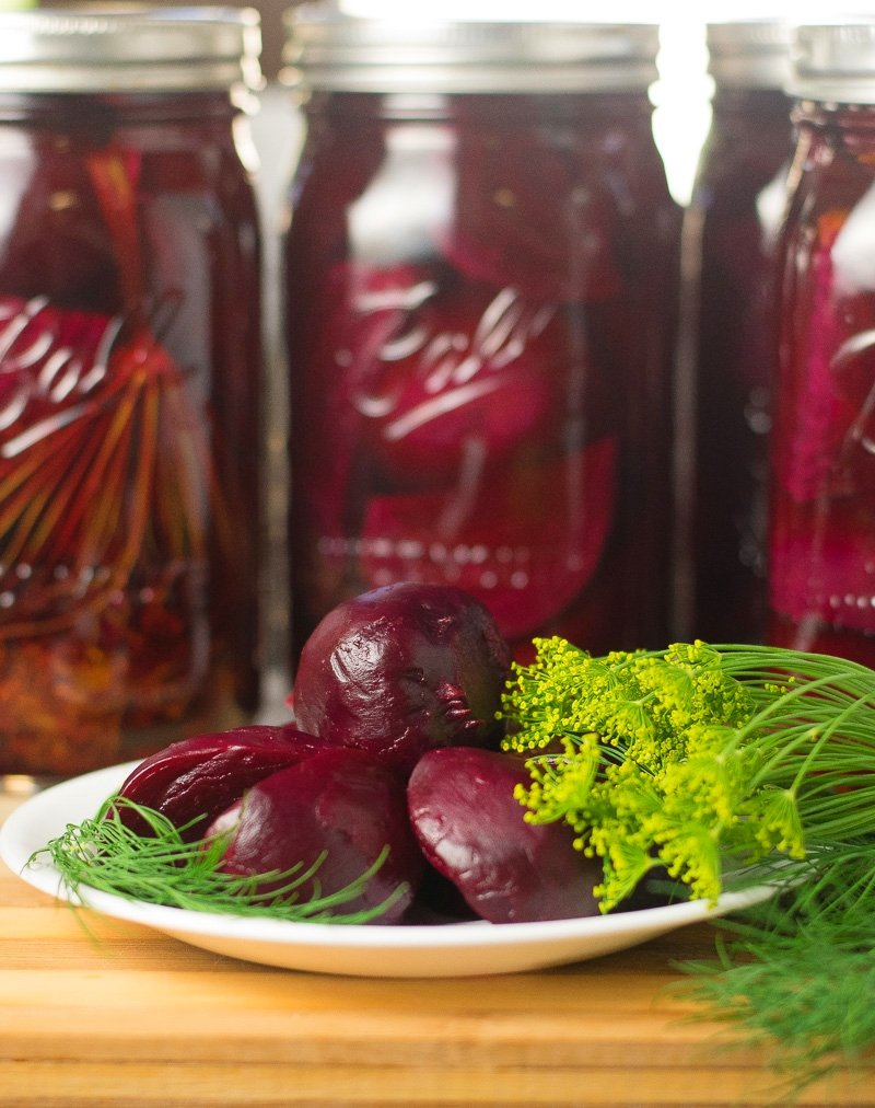 Dill pickled beets recipe