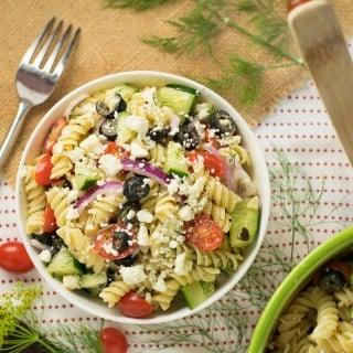 Feta and Dill Pasta Salad Recipe