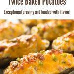 Jalapeno Popper Twice Baked Potato