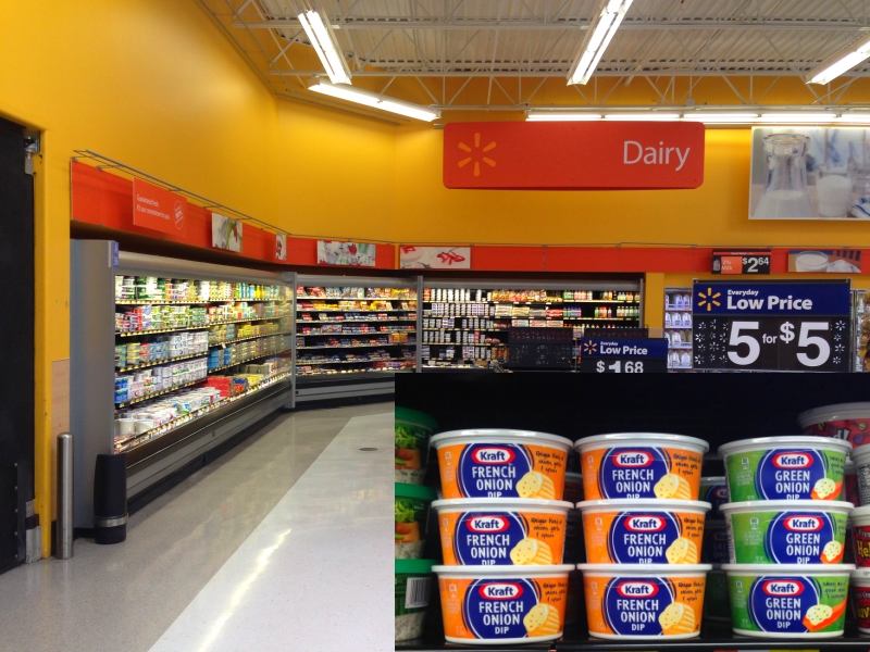 Kraft Walmart Shelf