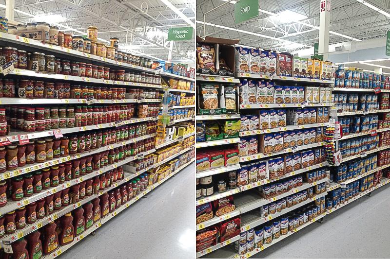 Walmart Soup and Salsa