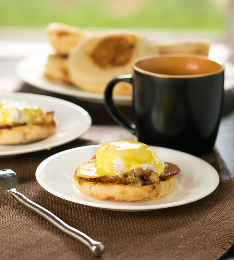 Bacon and Eggs Benedict Recipe