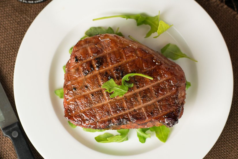 Cherry glazed pork chops recipe