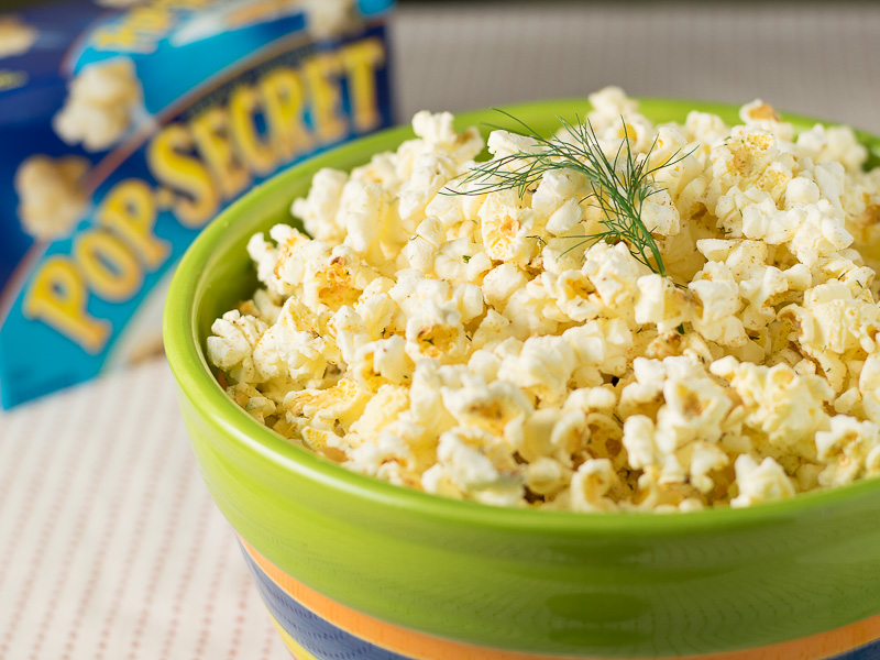 Dill pickle Pop Secret popcorn recipeDill pickle Pop Secret popcorn recipe