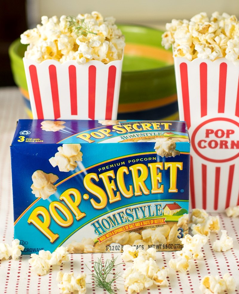 Dill pickle Pop Secret popcorn recipe